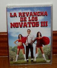 LA REVANCHA DE LOS NOVATOS lll 3 DVD NUEVO PRECINTADO COMEDIA HUMOR (SIN ABRIR)