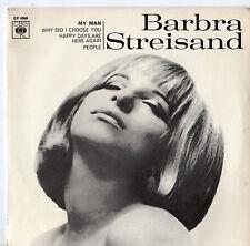 """Barbra Streisand - 7"""" EP 1965"""