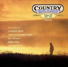 Country Music Classics, Vol. 19 1970-1975 by Various Artists CD Free Ship #HY15
