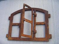 eisenfenster fenster f gartenmauer l ndlich wie antik. Black Bedroom Furniture Sets. Home Design Ideas