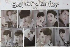 "SUPER JUNIOR ""SPY - INDIVIDUAL SHOTS"" POSTER - K-Pop Music"