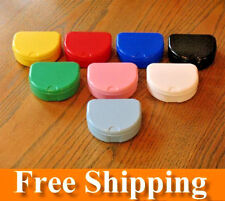 104 Mixed Color Denture Retainer Box Orthodontic Dental Case Mouth Ortho Brace
