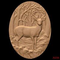 (218) STL Model Deer for CNC Router 3D Printer  Artcam Aspire Bas Relief
