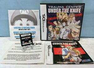 Trauma Center: Under the Knife (Nintendo DS, 2005) Complete - Tested & Working
