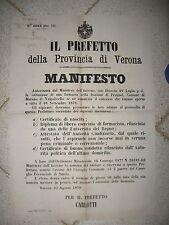 V696-VERONA-MARANO DI VALPOLICELLA FARMACIA PRUGNOL 1878