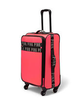 VICTORIAS SECRET PINK WHEELIE LUGGAGE--NEW