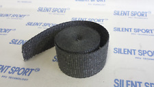 Silent Sport Auspuffband / Hitzeschutzband / Heat Protection Tape - Schwarz - 5m