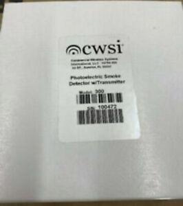 NEW CWSI MODEL 300 W/L SMOKE DETECTOR