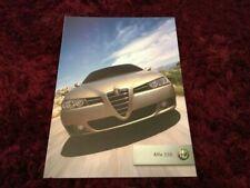 Alfa Romeo 156 Car Brochures