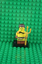 Lego 71018 Minifigures Series 17 #8 Roman Gladiator with Trident Minifig