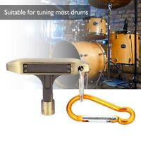 Metal Drum Skin Tuning Key Square Socket & Buckle for Drum Replacement Accessory