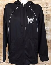 Tapout MPS Black & White Hoodie Jacket Size Large