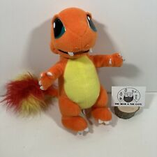 "Vintage 2000 Pokemon Charmander 11"" Plush Nintendo Play By Play Soft Toy Plush"
