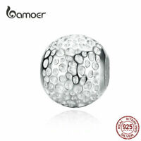 BAMOER Women European CZ Charm S925 Sterling Silver Starry Fit Bracelet Jewelry