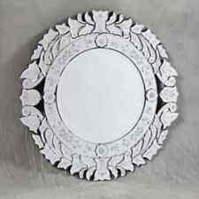 Large Round Detail Mirror/ Round Mirror / Shabby Chic