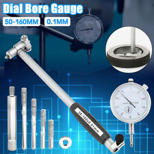 Range 50-160mm Engine Dial Bore Gauge Hole Indicator Accuracy 0.01mm Measure Kit