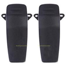 #QZO 2x Back Belt Clip for ICOM IC-V85 E M87 M88 F50 F60 R20 Walkie Talkie Radio