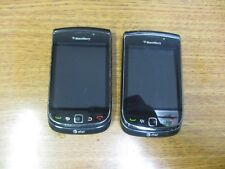 """Lot of 5 BlackBerry Torch 9800 - 4GB - Black (AT&T) """"AS IS FOR PARTS"""""""