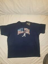 Alabama Crimson Roll Tide Mens Navy Blue 4th of July T shirt size 5XL