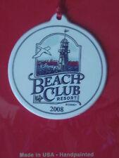 Ornement Beach Club Resort decoration Noel WALT DISNEY WORLD DISNEYLAND NEUF