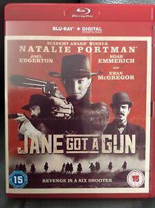Jane Got a Gun Blu-Ray (2016) Natalie Portman, O'Connor (DIR) cert 15