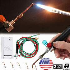 Jewelry Jewelers Micro Mini Gas Little Torch Welding Soldering Cutting w/ 5 Tips