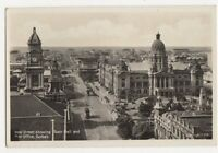 South Africa, West Street Durban RP Postcard, B139