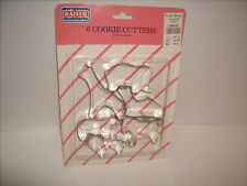 Vintage Kaiser Metal Animal Cookie Cutters Noah's Ark NEW and SEALED Germany