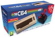 the C64 Mini Konsole (Commodore 64) + Joystick (64 Spiele Pre-installed)