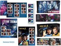 2016 & 2017 Canada Post Star Trek 50th.& Year 2  Stamps, Prestige Stamp Booklets