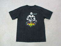 WWE Bautista Shirt Adult Large Black White WWF Wrestling Wrestler Mens