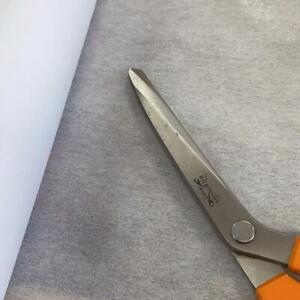 Firm Iron On Interfacing - Stiffener, Dress Making, Fusible  - White