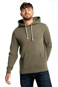 Levis Men Hoodie Athletic Casual New Original Khaki Cotton Clothing 34581-0013
