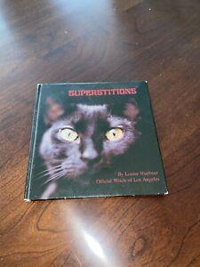 Very Rare Louise Huebner  Book Witchcraft Occult Superstitions Vintage Original