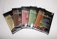 Shakeology Vanilla + Chocolate + Strawberry + Greenberry + Cafe Latte 5 Packets