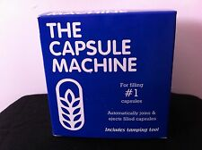 **The Capsule Machine Capsule Filler Made in the USA Size #1 +100 Capsules**