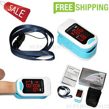 USA Contec Finger Tip Pulse Oximeter,Blood Oxygen Monitor,SPO2,PR+Carry Bag+rope