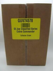 Hasbro GI Joe Classified Series Cobra Commander
