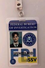 Criminal Minds ID Badge - Spencer Reid costume prop cosplay