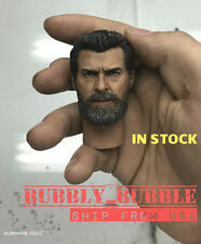 IN STOCK 1/6 Wolverine Head with Neck Hugh Jackman For Logan X-Men SHIP FROM USA