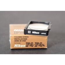 Nikon F4 Verre de Réglage B / Disque Mat Complet / Focusing Écran