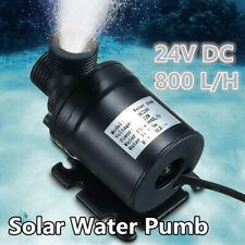 IP68 800L/H 5M DC 24V Solar Brushless Motor Hot Water Circulation Water Pump