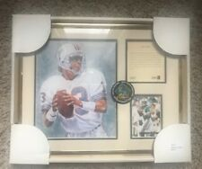 Kelly Russell Dan Marino Nfl Miami Dolphins Matted Print #2867 *New*Free Ship*