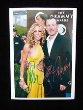 Sheryl Crow And Lance Armstrong Autograph - Hand Signed 7x5 Grammy Awards Photo
