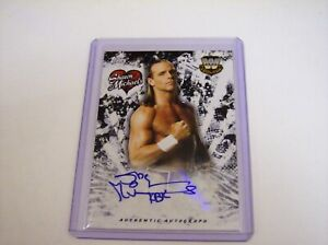 2018 Topps WWE Shawn Michaels Auto /99 Walmart Exclusive Autograph Wrestling