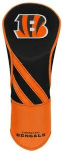 CINCINNATI BENGALS EMBROIDERED DRIVER HEADCOVER INDIVIDUAL NEW WINCRAFT 👀⛳