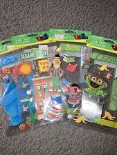 Jolee'S 123 Sesame Street Cookie Monster Oscar Bert Ernie Scrapbooking Stickers!