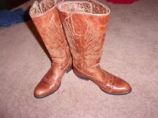 Women Ariat Boots Uproar Gingersnap Western Riding Cowgirl SiZe 9B EUC!!!