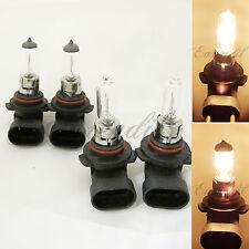Stock 9005 9006 High/Low Beam DOT Halogen Amber-White Xenon #St18 Headlight Bulb