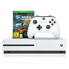 Microsoft Xbox One S 4K Hdr 1tb HDD Rocket League Paquete + Wireless Controller